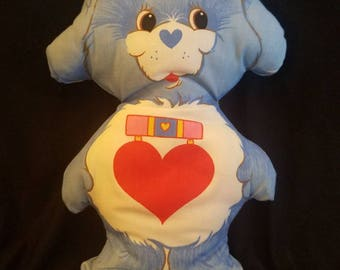 Vintage Care bear cousin Loyal Heart Dog pillow