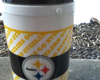 STEELERS black and gold thermo