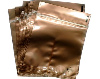Protective Silver Earrings Anti Tarnish Dual Intercept Zip Lock Poly Bags, 4 x4 inches, Sold Individually