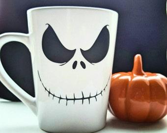 I'm a Nightmare Before Coffee - Nightmare Before Christmas Mug - Nightmare Before Christmas - Jack skellington - Halloween mug - Tim Burton