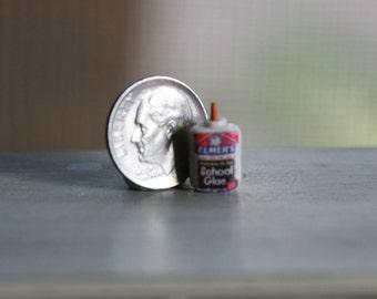 Dollhouse Miniature One Inch Scale 1:12  Elmers glue by CSpykersMiniaturesUS