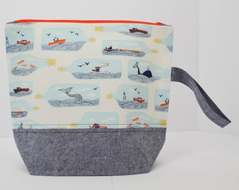 Ships in a Bottle Medium Project Bag