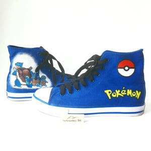 Pokemon Evolution Custom High Tops