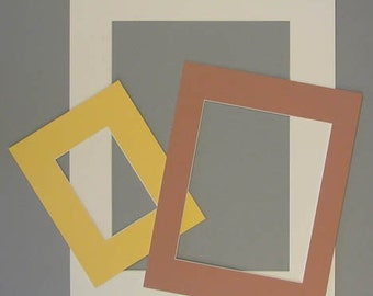 11x14 or smaller custom cut mat for artwork or photos