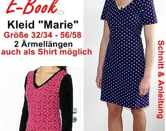 """EBook - dress or shirt """"Marie"""""""