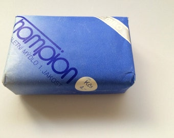 Vintage Czechoslovakia Soap Bar Champion