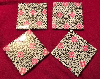 Floral Design Coaster