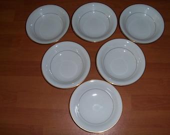 Noritake Guilford Set Of Six Soup Bowls