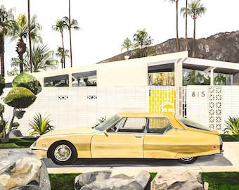 I know what I like and I like what I know, Car, Palm Springs, Landscape, MidCentury, Architecture, Still Life