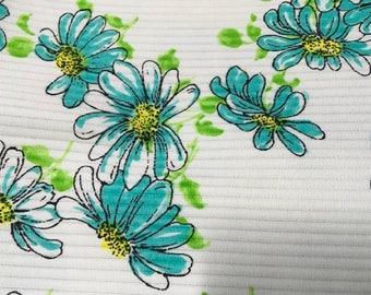 Vintage Mid-Century Mod Heavier Weight Ribbed Fabric