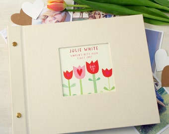 Personalised Mother's Day Photo Album (4 Designs Available)