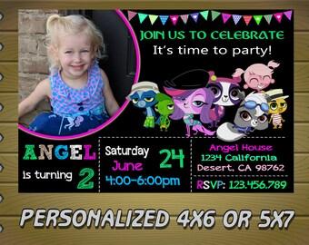 littlest pet shop invitation, littlest pet shop party,littlest pet shop birthday invitation,littlest pet shop birthday party,littlest pet