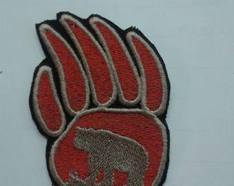 bear paw patch