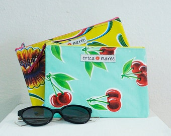Oilcloth Wallet Medium