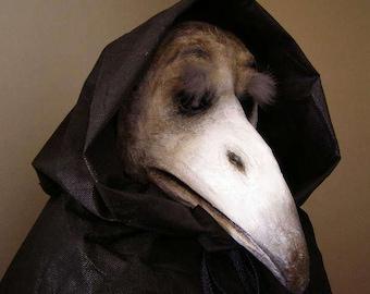 Plague doctor's mask Crow mask Corvus mask Raven mask Masquerade mask Carnival mask Halloween mask Adult mask