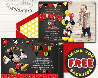 Mickey mouse invites etsy mickey mouse invitation birthday invitation mickey mouse birthday printable invitation mickey mouse filmwisefo Choice Image