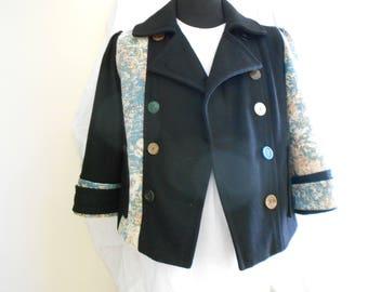 Upcycled Ladies jacket