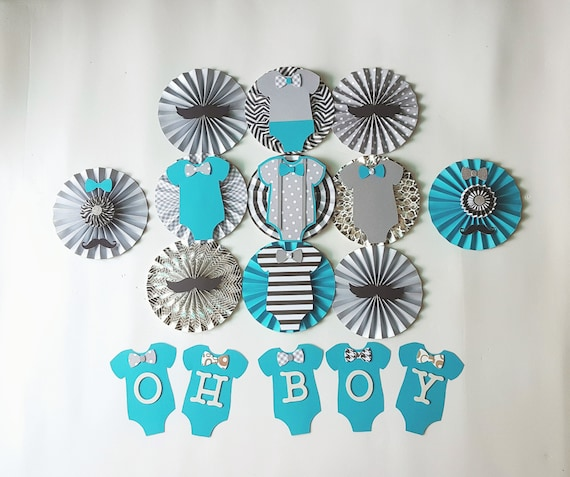 Onesie Themed Baby Shower Decor Mustache Themed Baby Shower