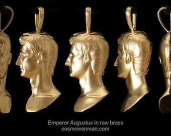 Emperor Augustus, necklace pendant