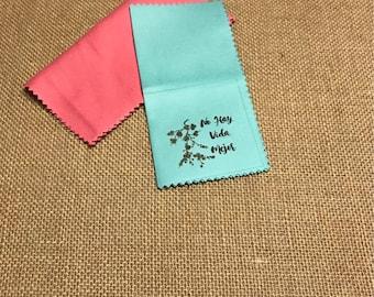 25 Custom Microfiber Cloths
