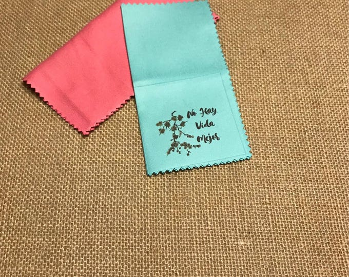 25 Custom Microfiber Cloths