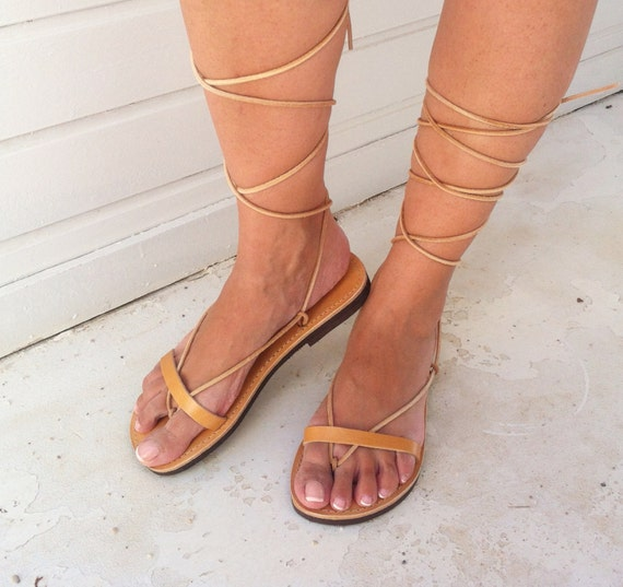 Lace gladiator leather sandals sandals sandals Sandals womens Leather Up qqwU5O7