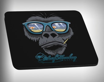 Gorilla Mouse Pad Custom Graphic Novelty Mousepad Great Gift Customized Personalized