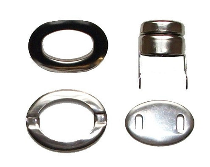 Twist Lock Set Gold or Silver Finish Bag Purse Metal Clasp Closure Hardware DIY Notion (#271)