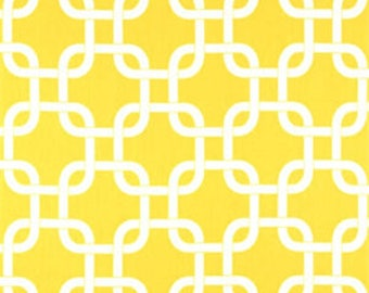 Gotcha Corn Yellow - Premier Prints   Fabric By The Yard   Geometric Fabric   Made in the USA fabric   Cotton Drapery Fabric   Yellow Fabric