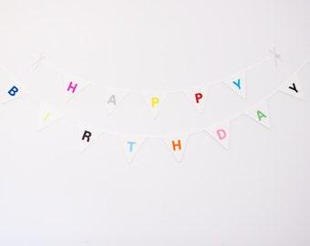 "Good Will Bunting ""Happy Birthday"""