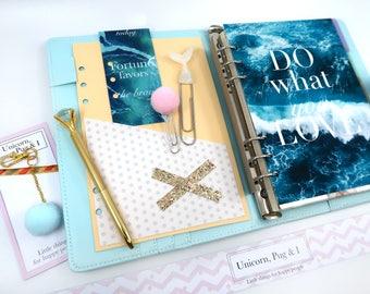 bullet journal accessory, planner binder, student planner, planner 2018, Planner Kit A5, a5 planner, 6 ring binder, a6 ring insert,