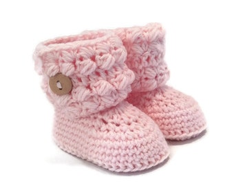 Cozy Cuff Baby Booties