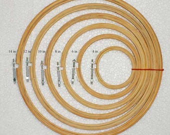 Different Sizes Wooden Round hand/machine embroidery Frame/Hoop-Tools for Embroidery-EMB225