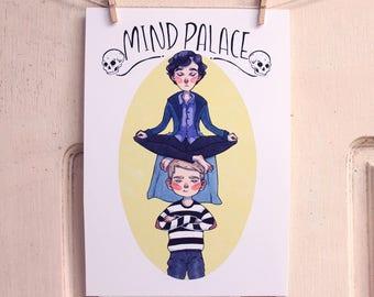 Sherlock - Print - Mind Palace