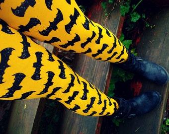 Super Hero Bats Leggings pants custom size
