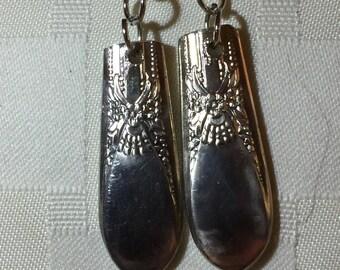 Antique silverware spoon/fork earrings