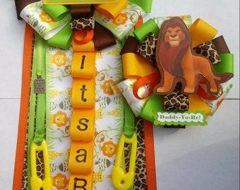 Lion king corsage set