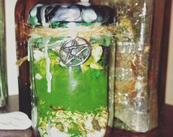 Fertility Witch Bottle, Battery, Wicca Spell, Pagan, Charm