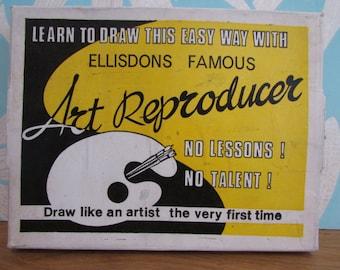 """Vintage Ellisdons """"Famous Art Reproducer"""" graphoscope"""