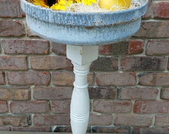 SOLD - Baluster Planter with Salvaged Parts