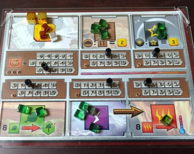Terraforming Mars Player Board Overlays (set of 5)