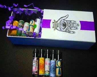Sample Pack Build Your Own Perfume Oil Samples Vegan Perfume Fragrance Oil Samples