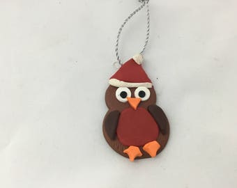 Robin Christmas gift tag/ decoration