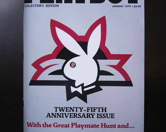 Playboy Magazine 25th Anniversary Issue - Collector's Edition - January 1979
