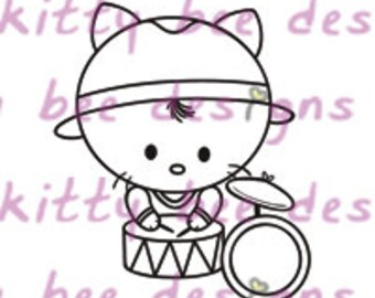 Percussion Kit Digital Stamp