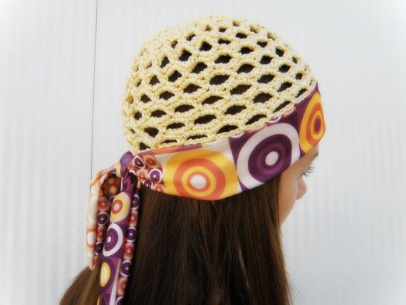 tricoter un bonnet d'ete