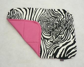 ZEBRA - Universal waterproof pad for dog, dog crate pad, travel dog bed, travel dog pad, travel dog mat, dog crate mat