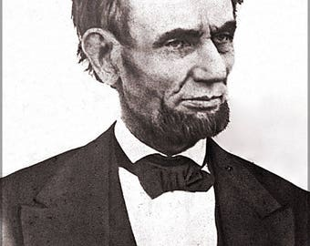 Poster, Many Sizes Available; President Abraham Lincoln Last High-Quality Photograph Of Lincoln Was Taken March 1865