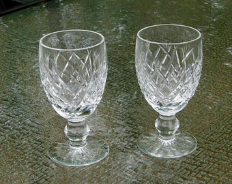 Waterford Donegal 2 wine glasses