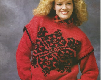 Women's Elena Pullover Knitting Pattern Book A 2025 (White Buffalo Mills Ltd.); Very Good; USED